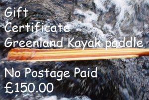 Greenland gift cert no postage