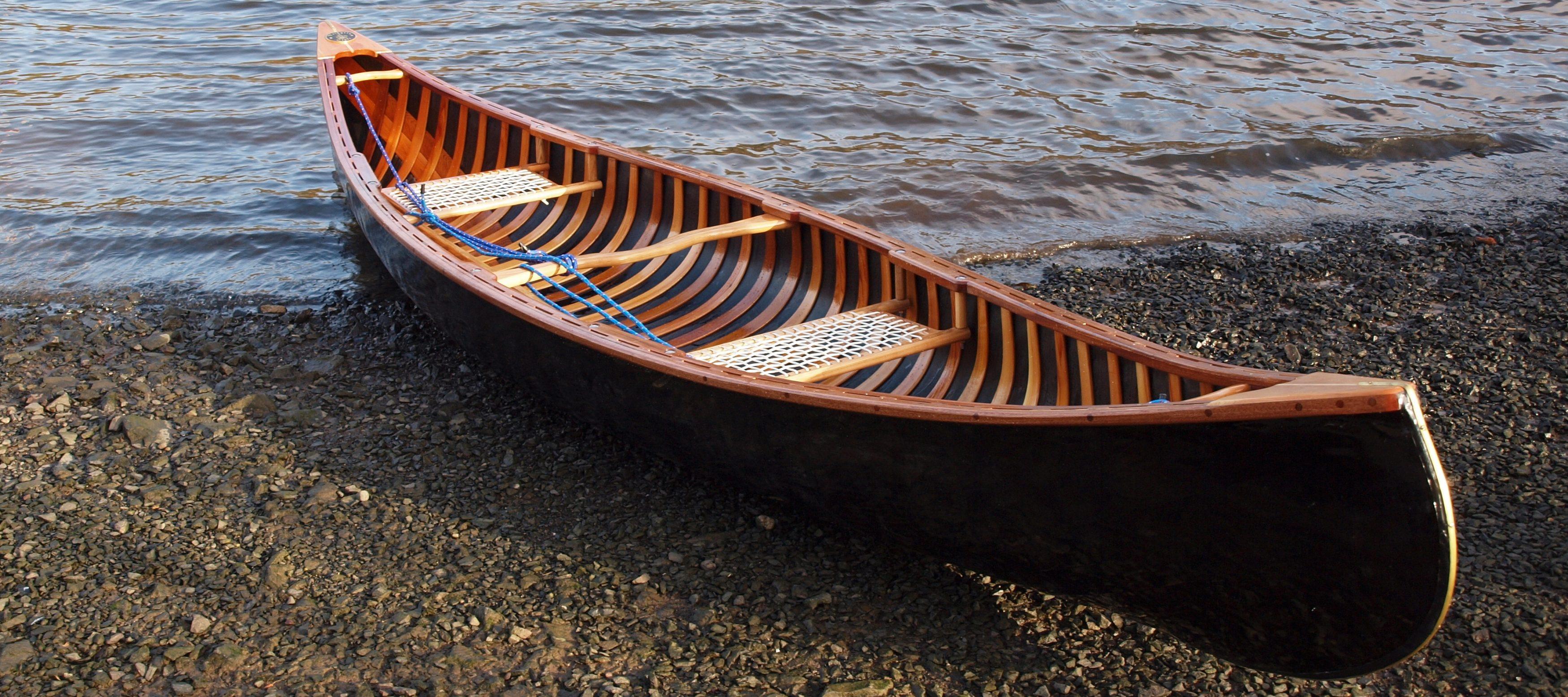 Merlin - Skin on Frame Open Canoe - Valkyrie Craft