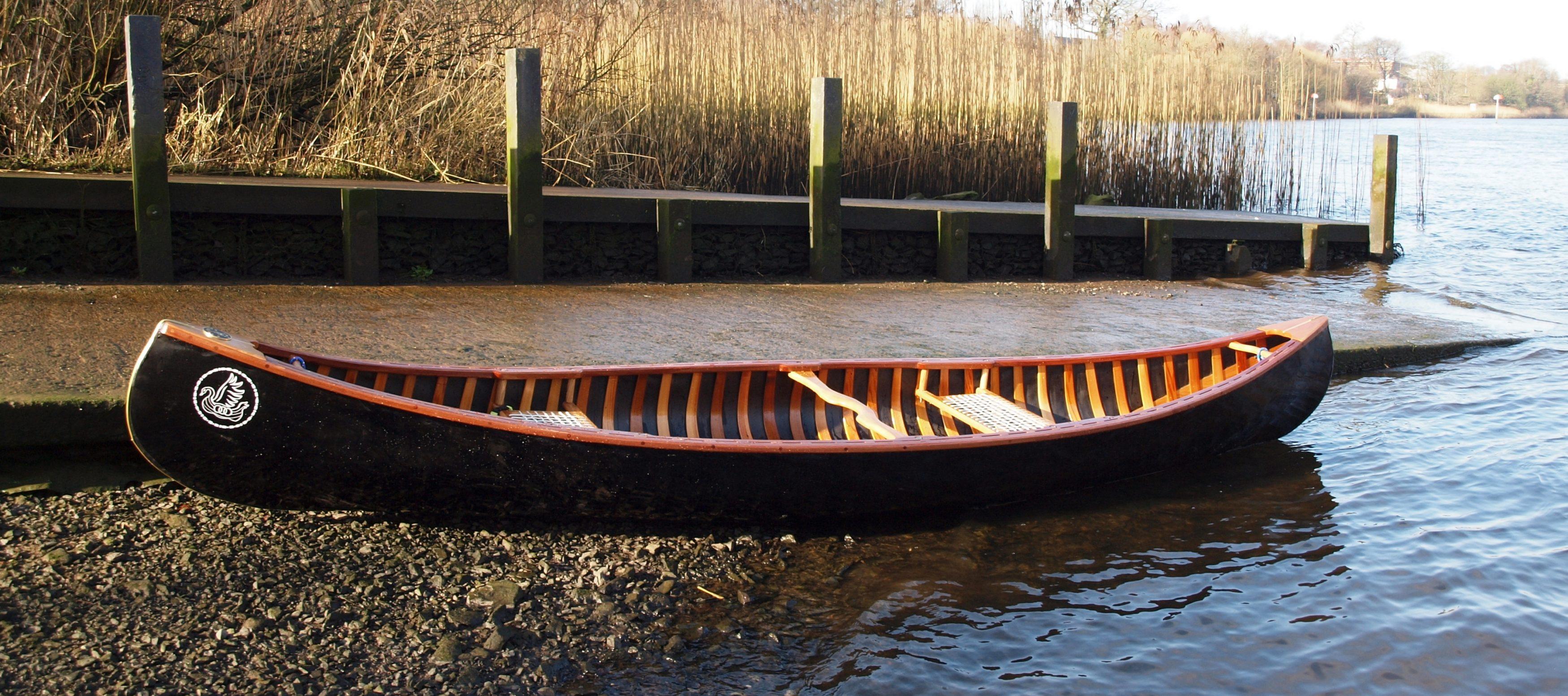 Merlin - Part planked Skin on Frame Open Canoe - Valkyrie Craft